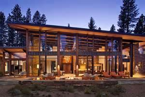 Modern House Design Mountain Home By Robbins Fabulous Mountain Modern Retreat In The High Sierras