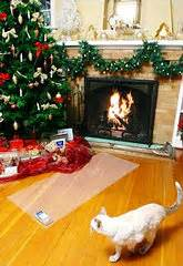 funny wayscto keep cats off christmas tree mats