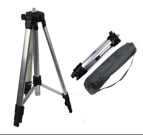 Tripod 1 M portable high quality 1 1m adjustable height thicken aluminum tripod 5 8 quot threads laser