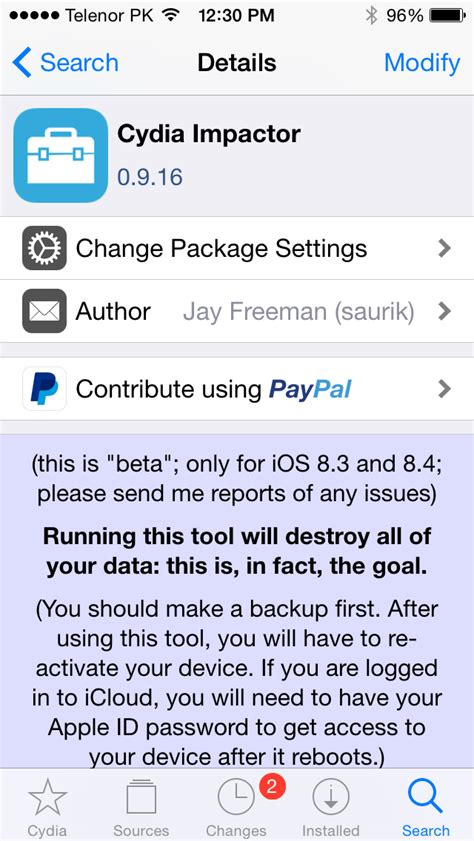 how to get full version of cydia cydia impactor released lets you unjailbreak ios without