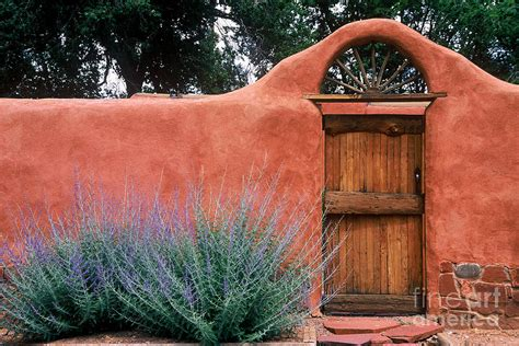 Country House Plans Online by Santa Fe Gate No 2 Rustic Adobe Antique Door Home