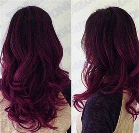 hairstyles and colors for dark hair 1000 ideas about dark purple hair on pinterest dark