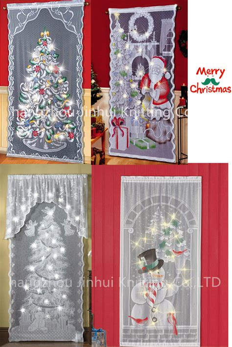 lighted christmas curtain panels lighted christmas curtains christmas decor and light
