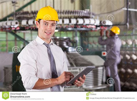 Factory Manager by Textile Factory Manager Stock Photo Image 27309830
