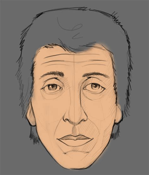 how to make doodle in photoshop how to draw a portrait in photoshop