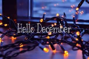 Christmas Lights Quotes Hello December Quote With Christmas Lights Pictures
