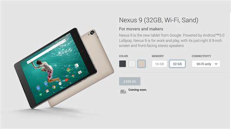 Play Store Order Nexus 9 Hits Play Store As Nexus 7 And Nexus 10 Are