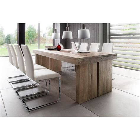 8 Seater Oak Dining Table Dublin 8 Seater Dining Table In Brown Solid Oak With Lotte Chair For The Home