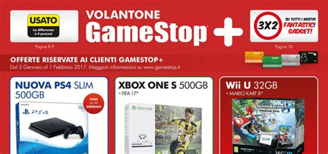 gamestop console usate volantone gamestop dal 5 gennaio all 1 febbraio 2017