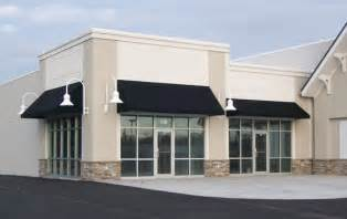 Simple Awning Design Simple Black Fabric Awning Classic Storefront Design