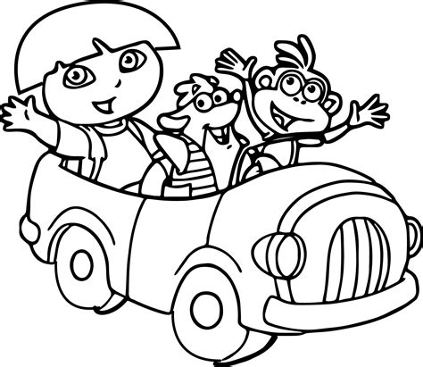 dora and friends coloring pages nick jr dora and friends coloring pages bltidm