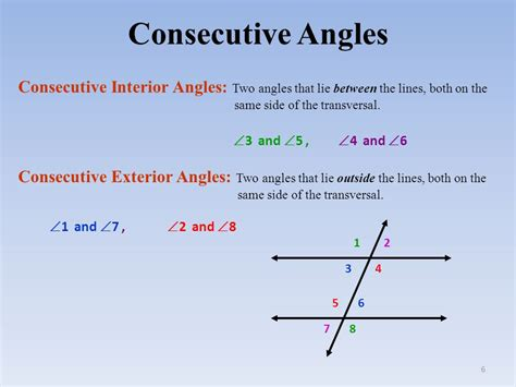 angles and parallel lines ppt
