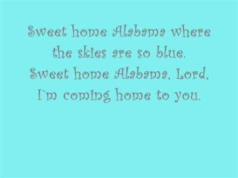vote no on sweet home alabama with lyrics hd