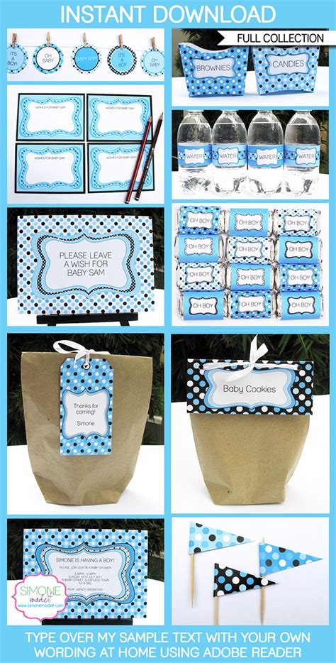 Baby Shower Printable Decorations by Baby Shower Free Printables Decorations Www