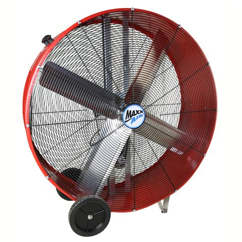 maxx air fan parts standard belt drive barrel fans