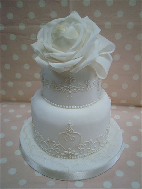 Small Wedding Photos by Small Wedding Cake 2 Flickr Photo