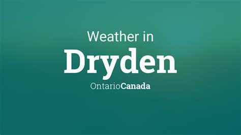 weather  dryden ontario canada