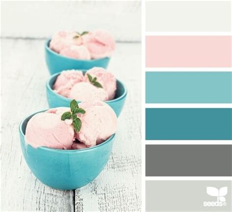 cute color schemes pink teal and gray color palette for the home pinterest