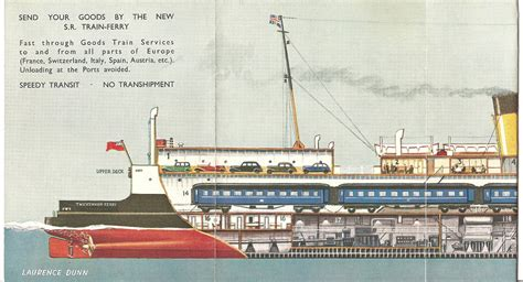 boat train english channel the night ferry carried the duke and duchess of