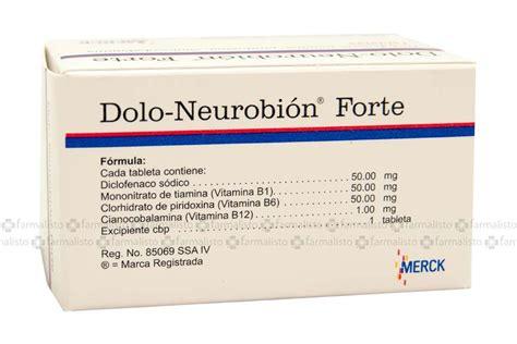 noticias sobre para que sirve la doloneurobion forte dolo neurobi 243 n forte precio frasco con 30 tabletas en