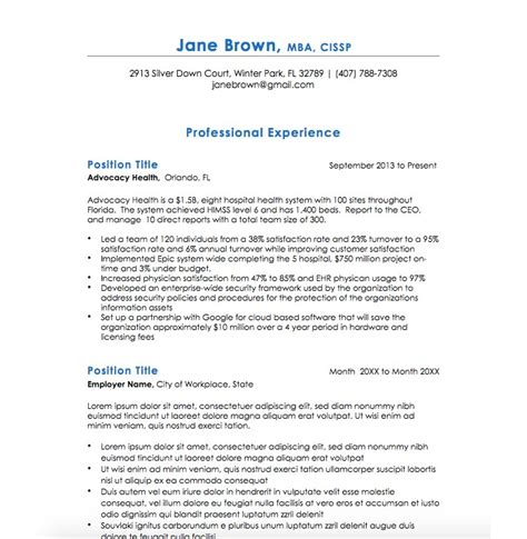 Executive 2 Resume Template by 21 Executive Resume Templates To Help You Land The
