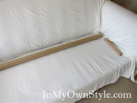 Extra Long Sofa Slipcover How To Cover A Chair Or Sofa With A Loose Fit Slipcover