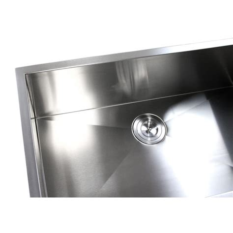 32 inch stainless steel sink 32 inch stainless steel undermount single bowl kitchen