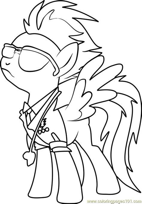my little pony coloring pages spitfire spitfire coloring page free my little pony friendship