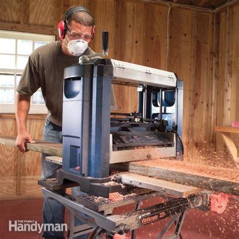 bench top planer  family handyman