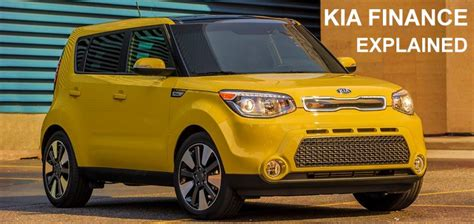 Finance Kia Kia Motors Financing Options Explained Kia News