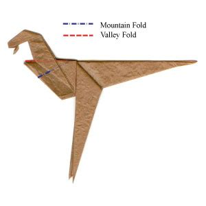 How To Make An Origami Velociraptor - how to make a simple origami velociraptor page 6