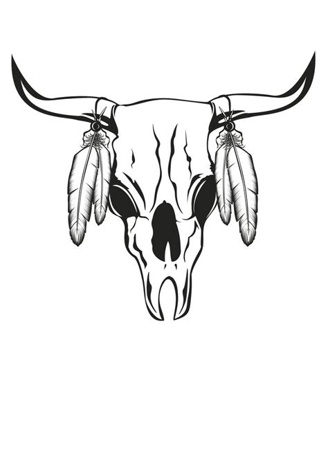 cow skull tattoo s for gt bull skull with roses tattoos