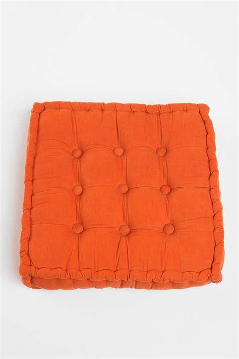 floor pillow tufted corduroy floor pillow