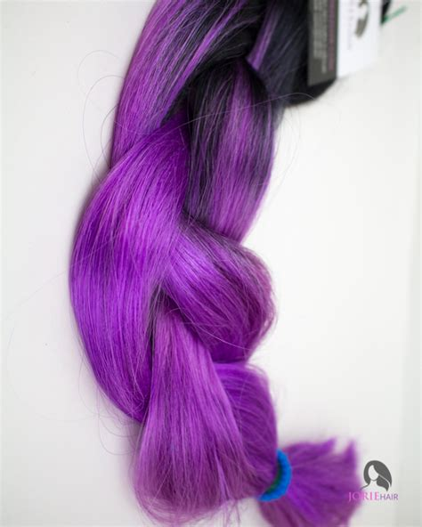 purple ombre braiding hair purple expression ombre jumbo braiding hair jorie hair