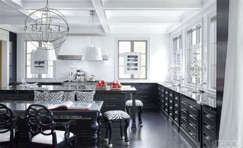 black white kitchen ideas 20 black and white kitchen design decor ideas