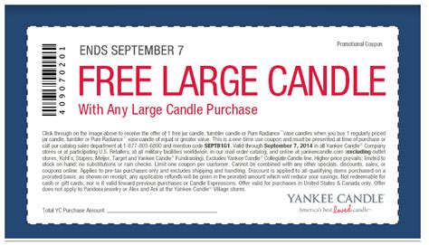 printable coupons yankee candle outlet yankee candle buy 1 get 1 free printable coupon deal