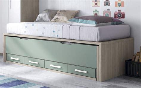 camas compactas  cama desplazable cama desplazable  cuatro cajones bajos