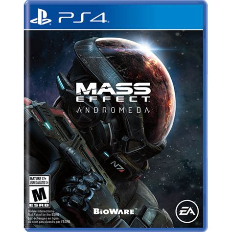 Kaset Ps4 Mass Effect Andromeda mass effect andromeda ps4 playstation 4 best buy canada