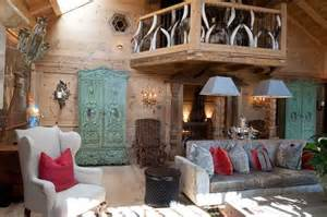 ski home decor old alpine chalet in french style shows art deco