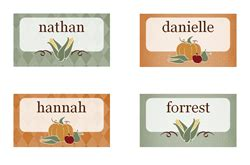 Thanksgiving Dinner Place Cards Template by Printable Thanksgiving Place Cards Released As Part Of New