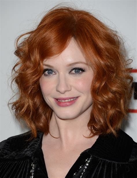 2014 top shoo for curly hair 2014 christina hendricks medium hairstyles best curly