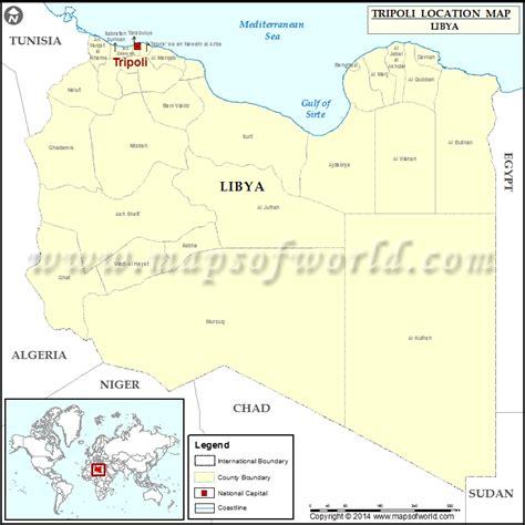 libya on the world map where is tripoli location of tripoli in libya map