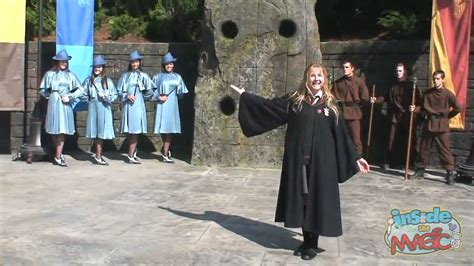 the try guys try magic beauxbatons girls and durmstrang guys perform at the