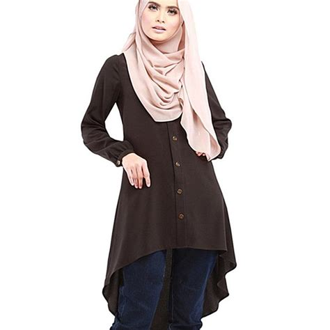muslim clothes tops islamic kaftan wear arab