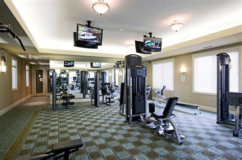 home gym studio design best home gym designs with hang on lcd tv ideas home