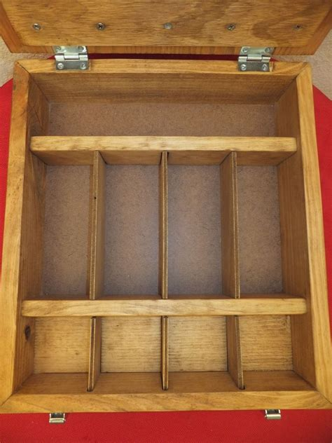 hand  wooden cash box  thh creations custommadecom