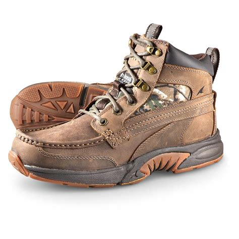 rugged shark shoes s rugged shark 174 corsair waterproof 200 gram thinsulate insulation hiking boots camo