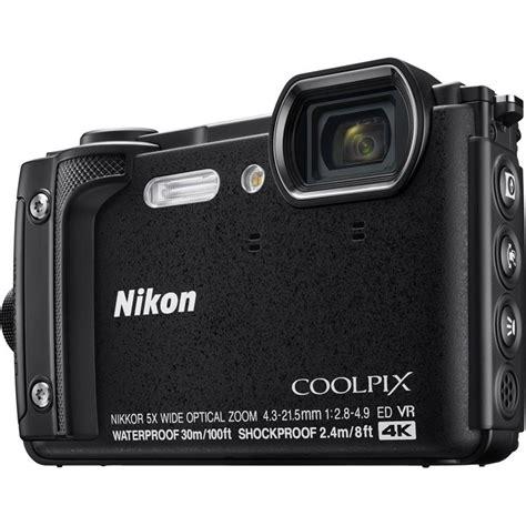 nikon waterproof nikon coolpix w300 black waterproof compact cameras