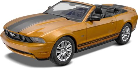 ford mustang model kit revell 1 25 snaptite 174 2010 ford mustang convertible