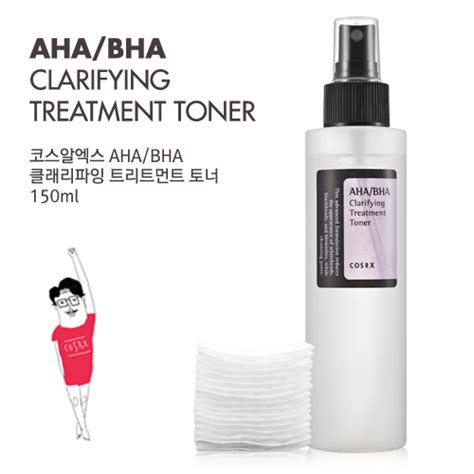 Toner Anti Jerawat 60ml cosrx aha bha clarifying treatment toner 150ml elevenia